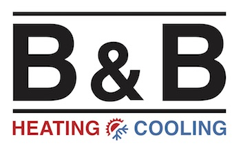 B & B Heating & Cooling Logo